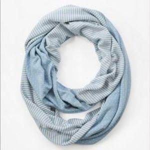 J Jill rough edge infinity scarf